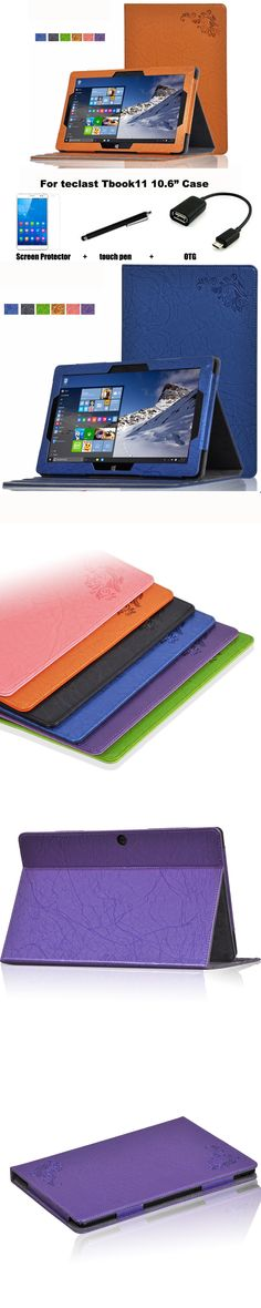 For teclast Tbook11 Tablet PC dormancy case 10.6'' protective Leather Case Protective Shell/Skin Case Stand Tbook11