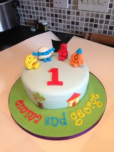 Mr Men cake Cakes For Men, Men Cake, Mr Men, Men Party, Birthday Cakes, Cake Ideas, Desserts, Kids, Tv