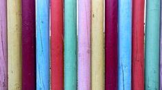 Holz, Bunte, Farben, Stöcke