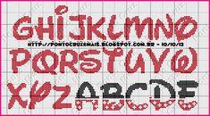 Ponto Cruz e Mais: Monogramas Mickey e Minie - Fonte Waltograph