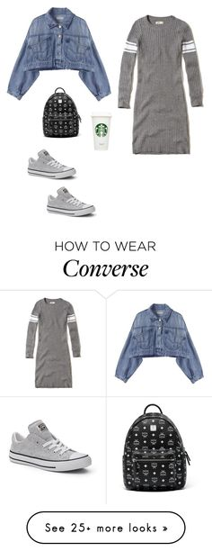 """Another Laundry Day"" by elshaymac on Polyvore featuring Hollister Co., Converse and MCM"
