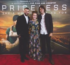 10/16/16 Lauren Daigle: It's such an honor to support my friends for KING & COUNTRY and their new film Priceless The Movie. #laurendaigle #king&country #pricelessmovie