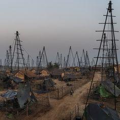 Striking oil doesn't mean striking it rich in the hardscrabble oil fields in south central Myanmar.