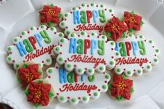 Christmas cookies - plaques