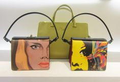 Prada #bag #minibag #print #colors #SpringSummer #FolliFollie #collection