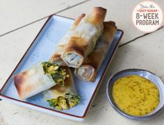 IQS 8-Week Program - Chicken Parcels with Satay Dipping Sauce
