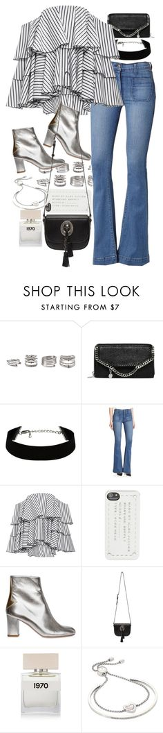 """""""Untitled #9155"""" by nikka-phillips ❤ liked on Polyvore featuring Forever 21, STELLA McCARTNEY, Hudson, Caroline Constas, Marc by Marc Jacobs, Camilla Elphick, Yves Saint Laurent, Bella Freud and Michael Kors"""