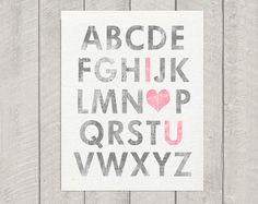 Hey, I found this really awesome Etsy listing at http://www.etsy.com/listing/94949252/nursery-alphabet-art-print