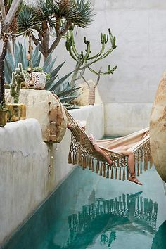Beaded Jute Hammock