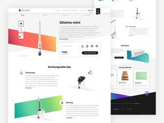 3Dsimo  product detail by Michael Čečetka #Design Popular #Dribbble #shots