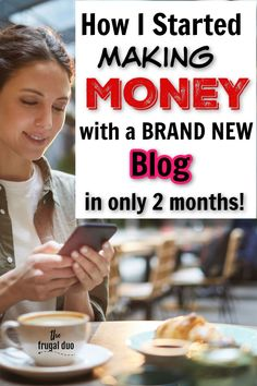 How I made money my 2nd month blogging with a brand new blog...and you can too! I'm here to tell you that it IS possible to make money starting out with a small blog. No special skills needed!