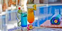 Cocktails at Pool Bar - This hotel  is the best choice for budget travelers who is deciding to stay in the center of Kuta Bali with complete hotel facilities.