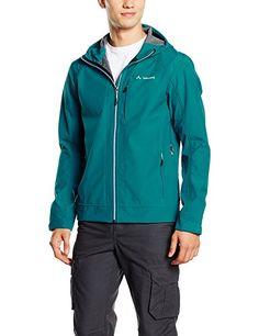 VAUDE Herren Jacke Skomer S Jacket, Green Spinel, M, 40033