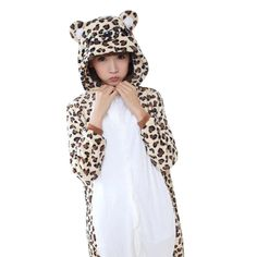 Beiji Unisex Kigurumi Adult Onesie Pajamas Christmas Cosplay Costume  Homewear Leopard Bear XL    Check this awesome product by going to the link  at the ... 0c69eaee28169