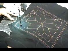 Handi Quilter Rulers and Trustitch Part 1