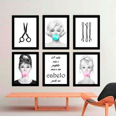 Face Line Drawing, Face Lines, Manicure, Business Women, Gallery Wall, Decoration, Marketing, Studio, Frame