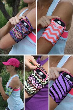 Speedzter Armbands are perfect for carrying your phone while you run.  They fit most phones, are comfortable and don't slip!  speedzter.com