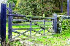 Country gate could be purple