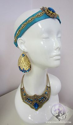 Princess Jasmine Accessory Set by FireflyPath on Etsy, $145.00