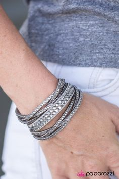 Friends Who Slay Together Silver Urban Bracelet
