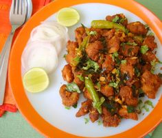 Chicken 65 at sailu's kitchen