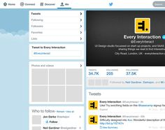 New Twitter GUI PSD 2014 - Every Interaction