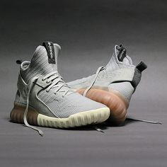 adidas Originals Tubular X Primeknit: Grey