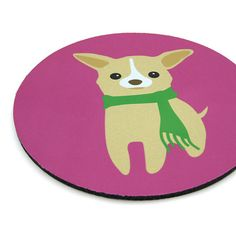 Chihuahua Mousepad  CheeS the Chihuahua Puppy MPRD601 by maustudio, $14.00