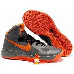 Cheap Nike Zoom Hyperdunk 2012 Supreme Metallic Silver Orange 454138 086