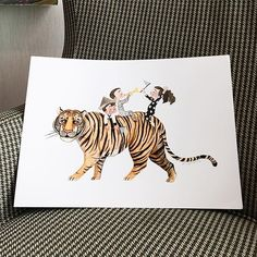 Coming soon... new prints to be released on @paperbackcreatures! More details on them soon. Have an amazing Sunday everyone!!  . . . . . . #hsulynnpangillustrations #prints #illustration #tiger #children #art #instaillustration #instagram #rendezvoushotel #rendezvoushotelsg #paperbackcreatures