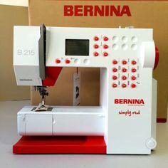 BERNINA 215 Simply Red !OVP! Neupreis 749€! in Berlin - Tiergarten | Weitere Haushaltsgeräte gebraucht kaufen | eBay Kleinanzeigen