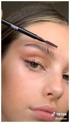 Makeup Eye Looks, Eye Makeup Tips, Cute Makeup, Pretty Makeup, Skin Makeup, Beauty Makeup, Makeup Products List, Natural Makeup Products, Makeup Basics