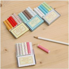 MochiThings: Pencil Cap Set v2