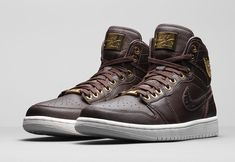 new style ebf34 67e56 Official images of the Nike Air Jordan 1 Pinnacle Baroque Brown.