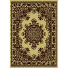 Caroline Medale Oriental Rug (7'9 x 11') - Overstock™ Shopping - Great Deals on 7x9 - 10x14 Rugs