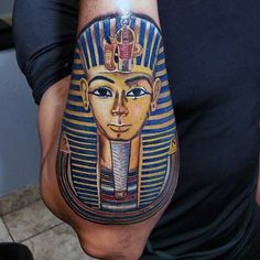 Outer Forearm Guys King Tut Tattoos