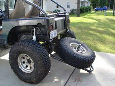 Swing Down Tire Carrier