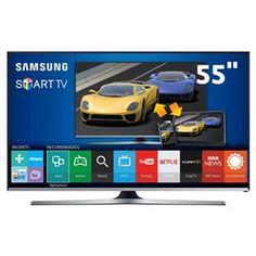 """[BAHIAMOB]Smart Tv Led 55"""" Full Hd Samsung 55j5500 - R$3099,00 9X SEM JUROS"""