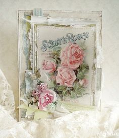 Rose card with seed packet