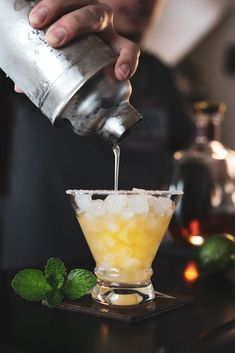 Bourbon Whiskey Margarita