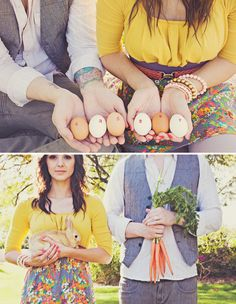easter-engagement-photo