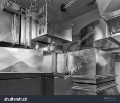 Ductwork With Damper Actuatorcontrols Air Flow Into An Air Conditioned Space. Mechanical Ventilation, Ventilation System, Building Code, Building Systems, Engineering Consulting, Air Supply, Shop Storage, Indoor Air Quality