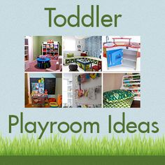playroom makeover on a budget. great ideas for a playroom makeover