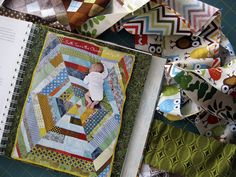 """Alternative Piecing Method for Anna Maria Horner's """"Sixth Time's the Charm"""" Crib Quilt"""
