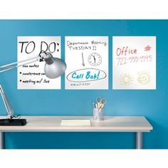 dry erase wall stickers!
