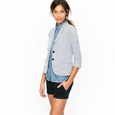 85 Best Seersucker Images Seersucker Fashion Seersucker Blazer