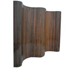 Solid Rosewood Folding Screen ca.1960's