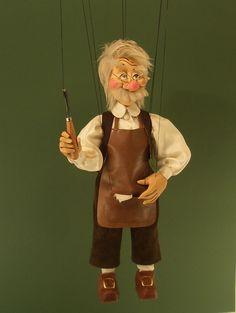 Geppetto marionette