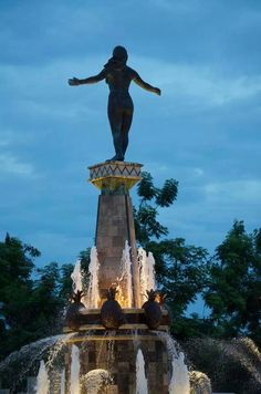The Taina  women monument...Caguas, Puerto Rico #Caribbean