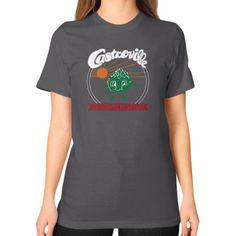 Castroville Artichoke Festival Unisex T-Shirt (on woman)